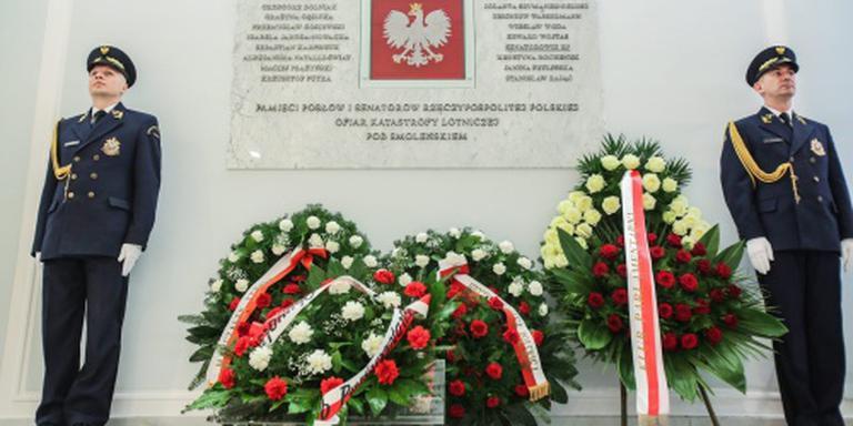 Polen herdenkt vliegramp Smolensk