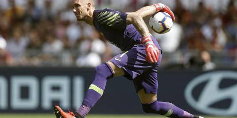 Doelman AS Roma onzeker voor Porto