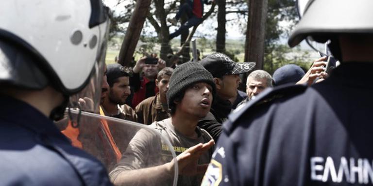 Brandbrief Idomeni over migranten