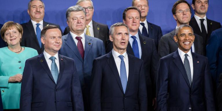 NAVO akkoord met troepen Oost-Europa