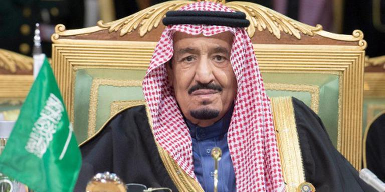 Koning Salman geeft bloedige boodschap af
