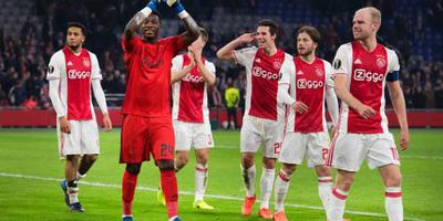 Ajax loot mee in Europa League