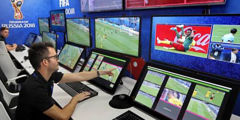 Videoscheidsrechter 20 keer in actie op WK