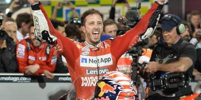 Dovizioso winnaar twee weken na MotoGP Qatar