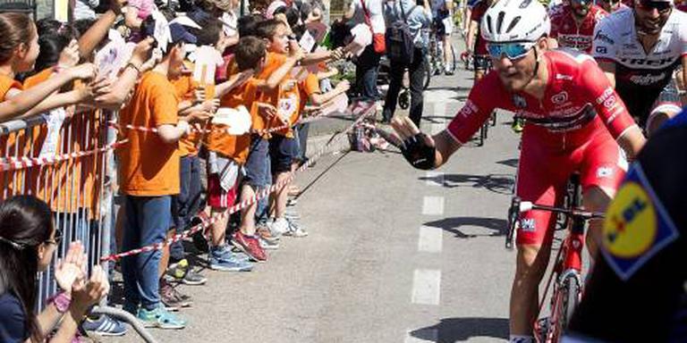 Weer ritzege Visconti in Ronde van Oostenrijk
