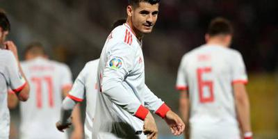 Morata helpt Spanje aan zege