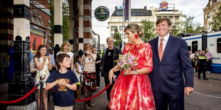 Koningspaar bij opening Holland Festival
