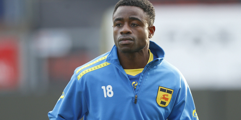 Ogbeche in spits bij Cambuur