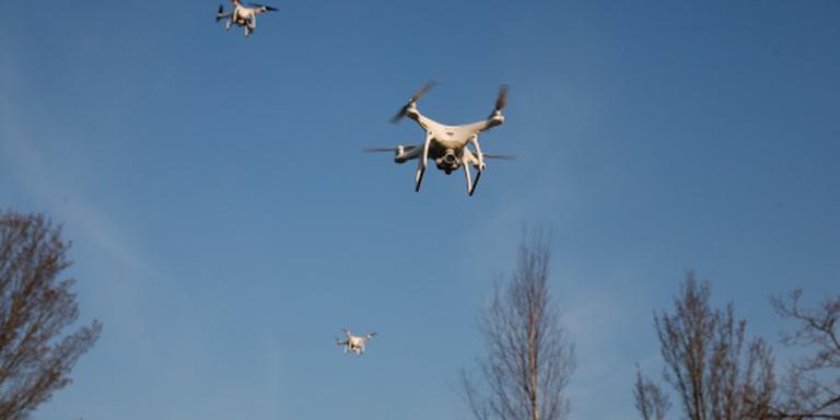 Piloot spot drone op 5 kilometer hoogte