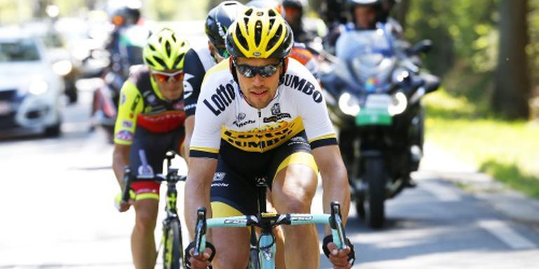 Tjallingii verovert alsnog bergtrui in Giro