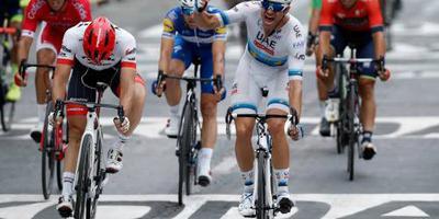 Kristoff sprint naar etappezege in Oman