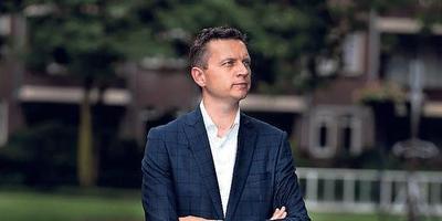 Wethouder Jelle Zoetendal van Heerenveen. FOTO NIELS DE VRIES