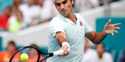Federer naar laatste zestien in Miami