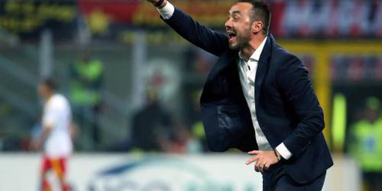 De Zerbi trainer Sassuolo