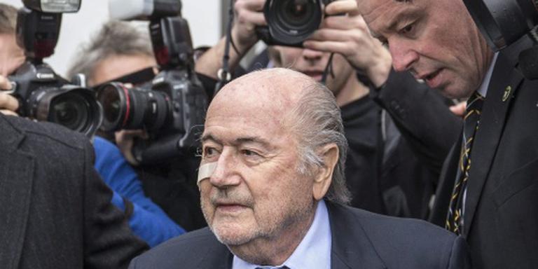 Blatter verdedigt zich zeven uur lang