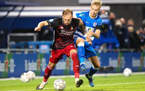 Mark Diemers: 'Hoeveel Leeuwarders zouden er bij Feyenoord hebben gespeeld? Ik ben er trots op'