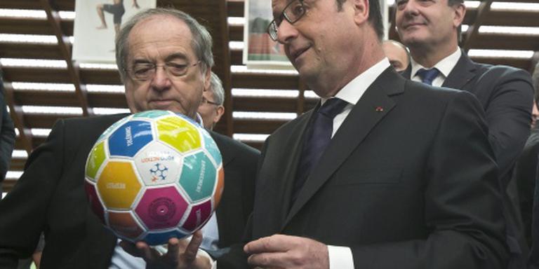 Hollande: acties mogen EK 2016 niet verstoren