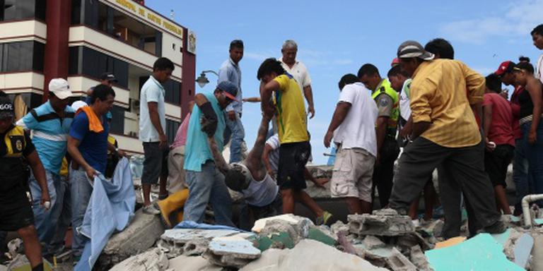 Dodental Ecuador loopt verder op