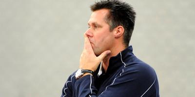 Zoodsma in het seizoen 2011-2012 als coach van Lycurgus. FOTO JAN KANNING