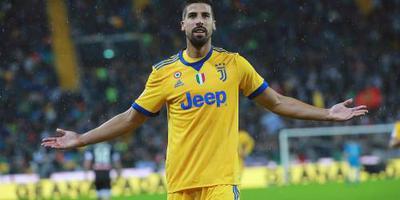 Juventus voorlopig zonder Khedira