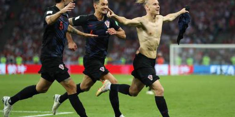 Kroatië velt Russische strijders met penalty's