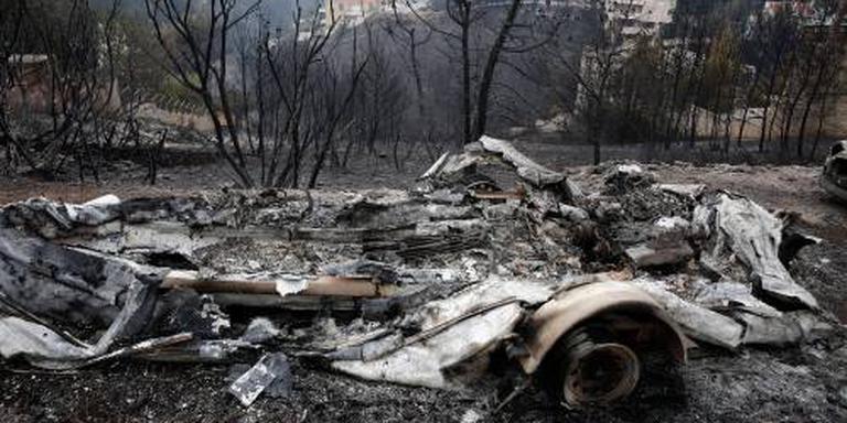 Dodental branden Griekenland loopt op