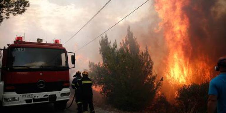 EU-landen helpen bij Griekse natuurbranden