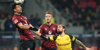 Dortmund stagneert bij hekkensluiter Nürnberg