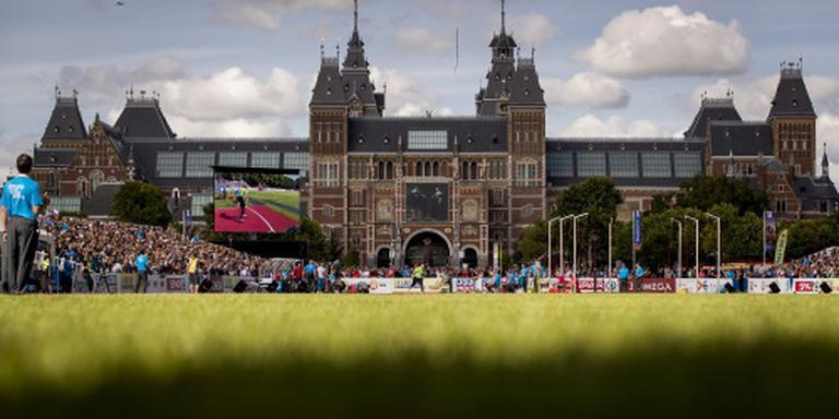 Volle bak bij EK Atletiek in Amsterdam
