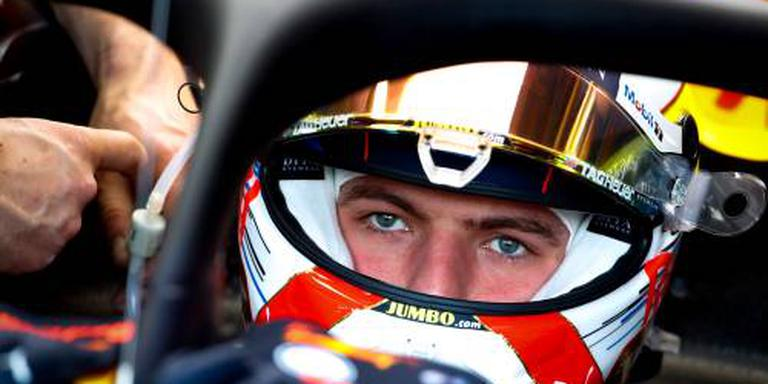 Verstappen vierde en derde in trainingen