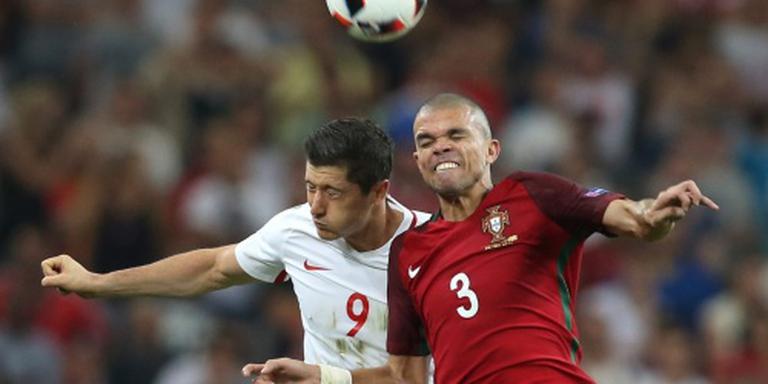 Portugal zonder Pepe tegen Wales