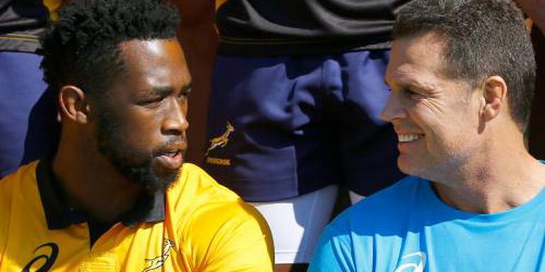 Kolisi eerste donkere aanvoerder Springboks