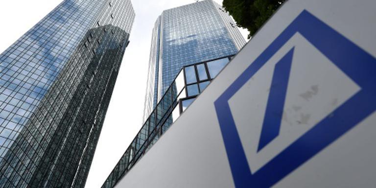 Aandeel Deutsche Bank weer fors omlaag