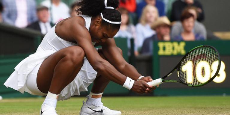 Serena Williams moet diep gaan op Wimbledon