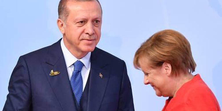 Erdogan ontmoet eind september Merkel