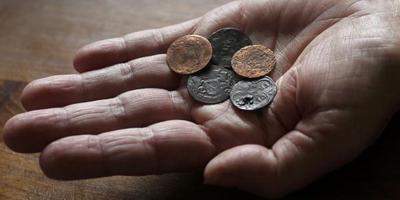 Oude munten gevonden in kerk van Wier