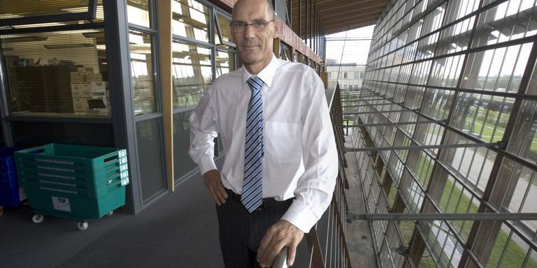 Henk Wilbers, voorzitter van de raad van toezicht van Patyna, is in het dagelijks leven directeur van onderwijsinstelling Cedin. FOTO LC