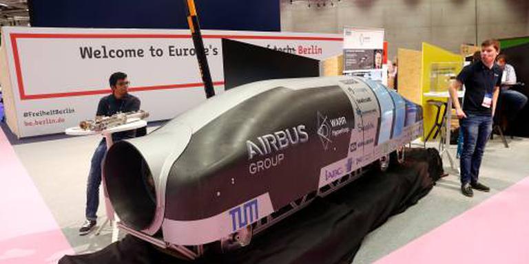 Delfts hyperloopteam grijpt naast titel