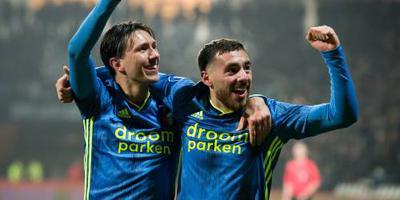 Feyenoord verslaat Heracles Almelo na de rust
