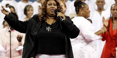Trump roemt Aretha Franklin
