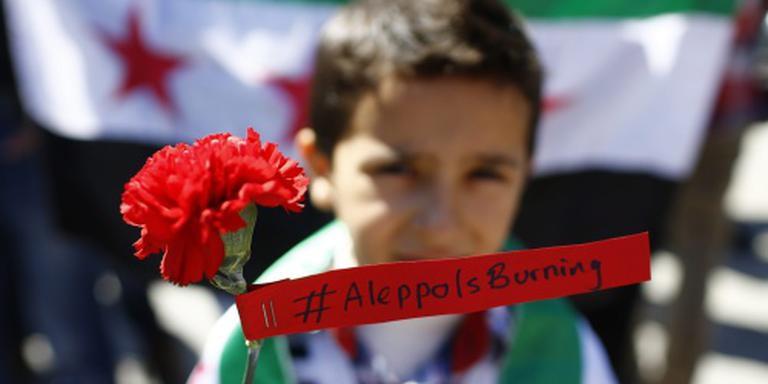 Aleppo hoogste prioriteit voor Kerry