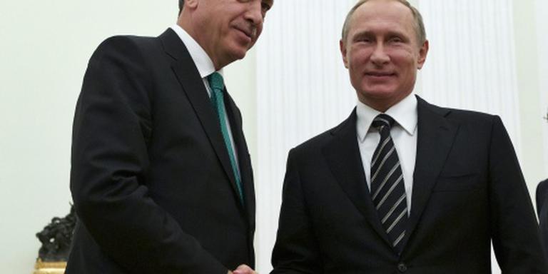 Poetin accepteert verontschuldiging Erdogan