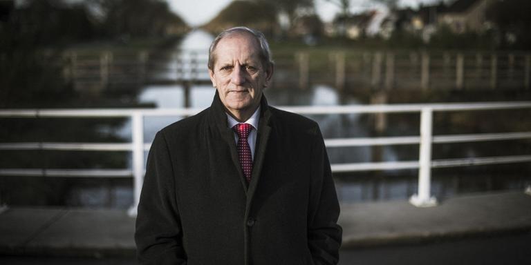 Ton Baas: ,,Wijsheid is een van de belangrijkste menselijke eigenschappen.'' FOTO MARCEL JURIAN DE JONG.