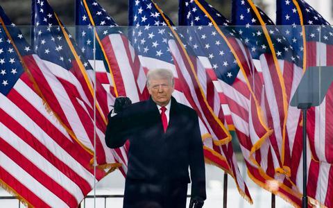 Trump: fraude bij verkiezingen, maar er moet 'vrede' zijn