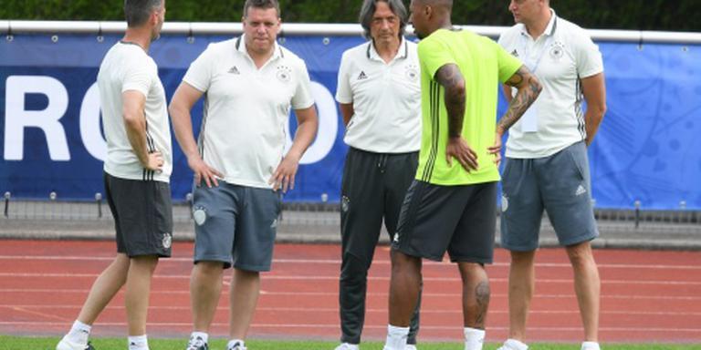 Duitsland met Boateng tegen Slowakije