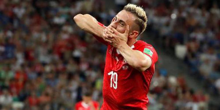 Zwitsers met Drmic tegen Zweden