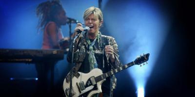 David Bowie is 69 jaar geworden. FOTO ANP