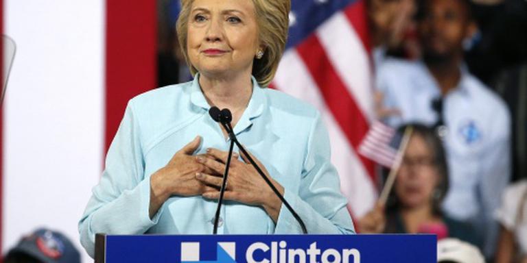 Clinton nu officieel kandidaat van Democraten