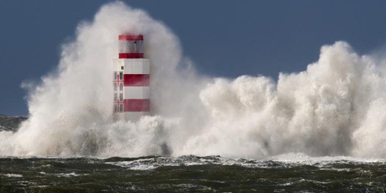 Waarschuwing voor storm aan de kust