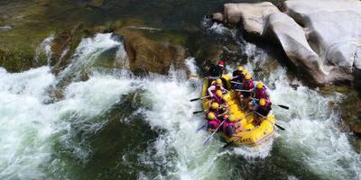 Toeristen verdronken na raftongeluk Costa Rica